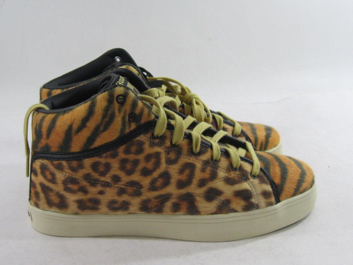 Reebok Mens Casual Fashion Sneakers V54201 Sh Prime Court CheetahSize 7.5