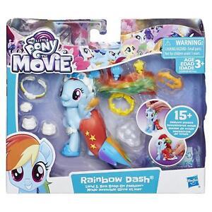 My Little Pony Rainbow Dash Figure Land & Sea Snap-On Fashion Playset