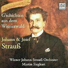 Johann Strauss: Geschichten au von Martin Sieghart | CD | Zustand sehr gut