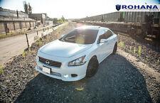 20x11 +28 Rohana RC10 5x114.3 Black Wheel Fit Nissan Maxima 2011 2012 2013 5x4.5
