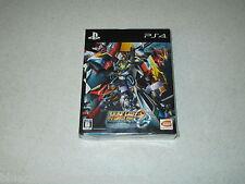 Super Robot Wars OG Moon Dwellers First Press Limited Edition PS4 Japan Import