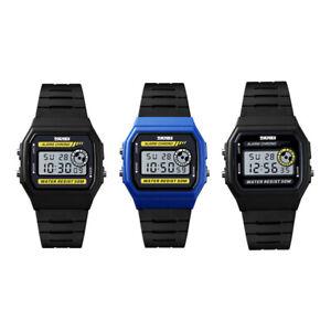 nueva llegada 5f83a 2f85a Detalles de Reloj Deportivo Para Mujer Skmei Reloj Cronometro Digital  Sincronizacion Pu J8N4