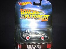 Hot Wheels DeLoream Time Machine Back to the Future 1955 Part 3 1/64 ms1