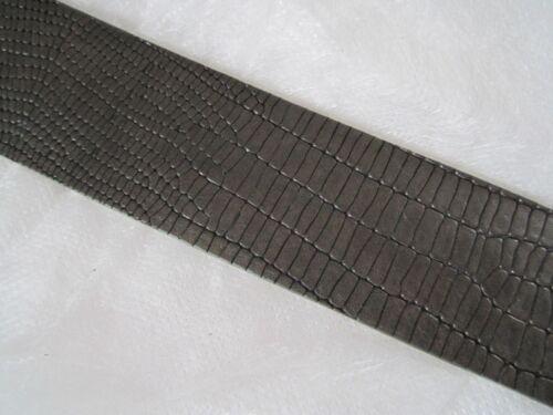 umjubelt Gürtel dunkelbraun echt Leder ohne Schnalle 85 90 95  NEU   //P