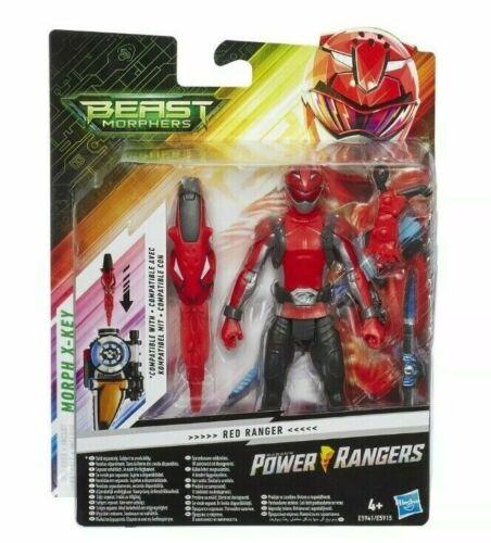 "POWER Rangers SABAN/'S BESTIA morphers 5/"" Action Figure Morph X-Key HASBRO"