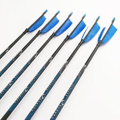 Sport Sp500-1000 Id4.2mm Bogenschießen Carbon Pfeile Bogen Shaft Archery 12pcs Festsetzung Der Preise Nach ProduktqualitäT
