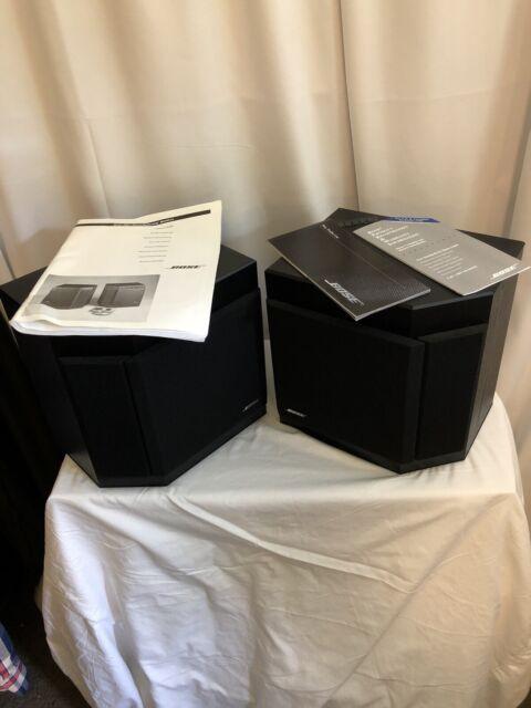 Bose 2001 Direct/Reflecting Stereolautsprecher Matched Pair Schwarz