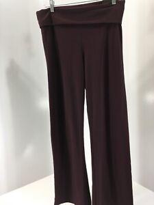 Victoria Sport Para Mujer Ojal Detalle Pantalones De Yoga Ciruela Oro Rosa Med Corto Nuevo Con Etiquetas Ebay