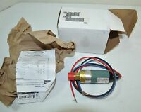Asco J Series Miniature Pressure Switch 1/4 Npt Model Jc38a214c