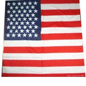 USA BANDANA AMERICA AMERICAN FLAG UNITED STATES HEAD WRAP SCARF - USA , USA, United States - USA BANDANA AMERICA AMERICAN FLAG UNITED STATES HEAD WRAP SCARF - USA , USA, United States