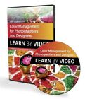 Color Management for Photographers and Designers: Learn by Video by Conrad Chavez (DVD, 2014)
