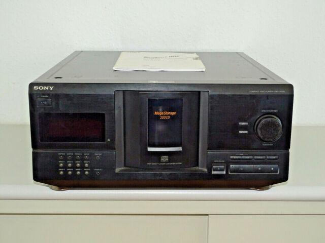 Sony CDP-CX235 200-fach CD-Wechsler in Schwarz inkl. BDA, 2 Jahre Garantie