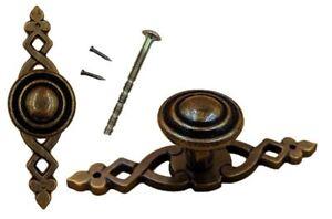 Avoir Un Esprit De Recherche Style Antique Bronze Porte Bouton Tiroir Tirez Armoire Poignée Vintage Mobilier 1pc-afficher Le Titre D'origine