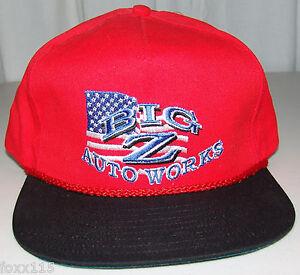 Vintage-Big-Z-Auto-Works-San-Bernadino-California-Snapback-Hat-Cap-Never-Worn