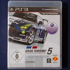 PS3 Playstation ► GT Gran Turismo 5 Academy édition ◄ allemagne Version