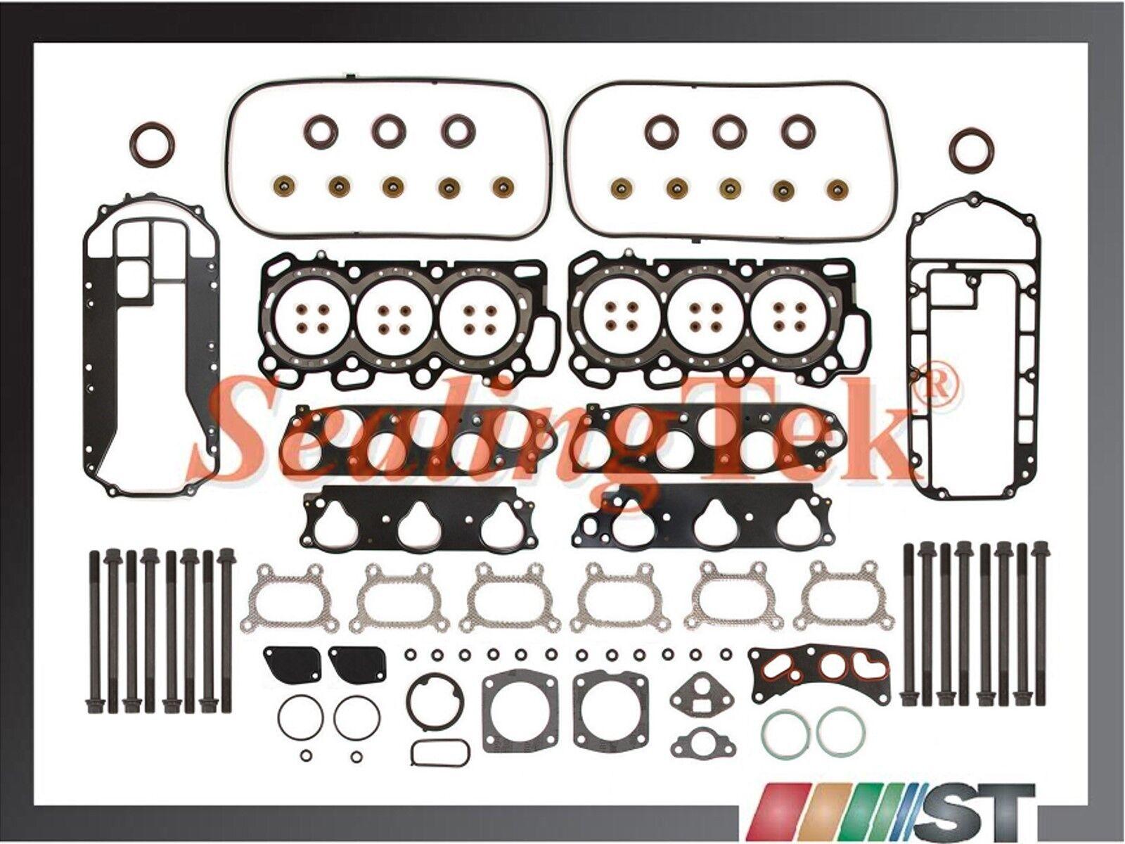 Head Gasket Bolts Set for 05-09 Acura MDX TL Honda 3.2 /& 3.5 SOHC J32A3 J35A
