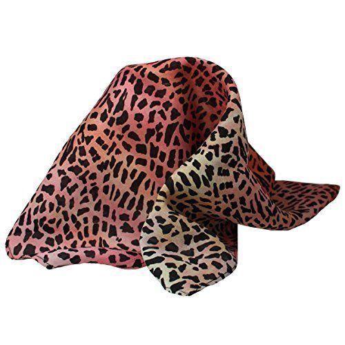 "Leopard Print Silk Pocket Square by ROYAL SILK® - 16"" x 16"""