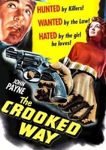 The-Crooked-Way-New-DVD-The-Crooked-Way-New-DVD-Remastered-Digitally-Mast