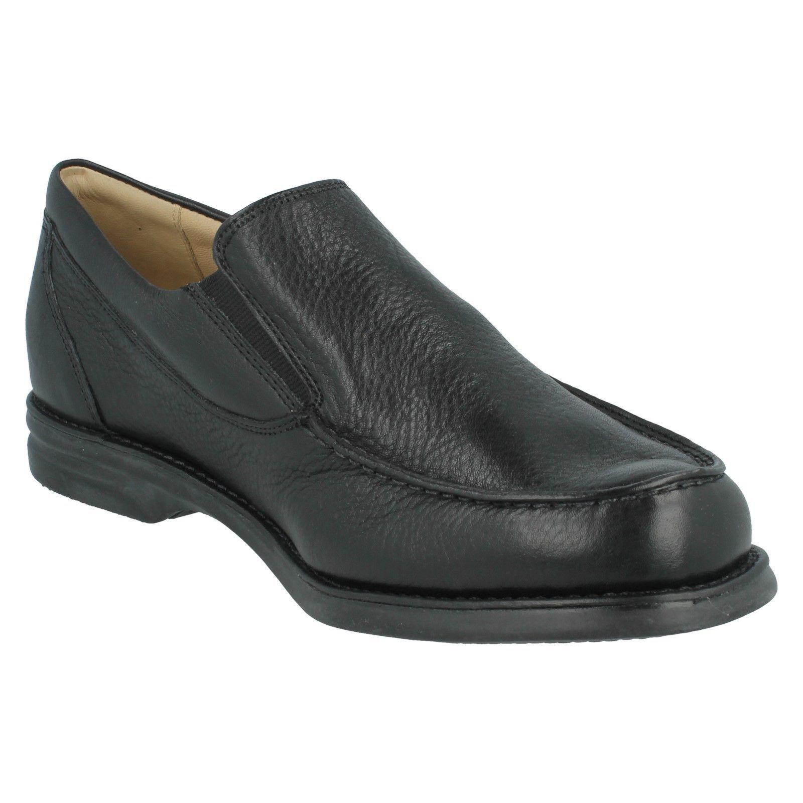 Herren Anatomic Slip & Co gekörntes Leder Slip Anatomic On Schuhe Bernardo af91da