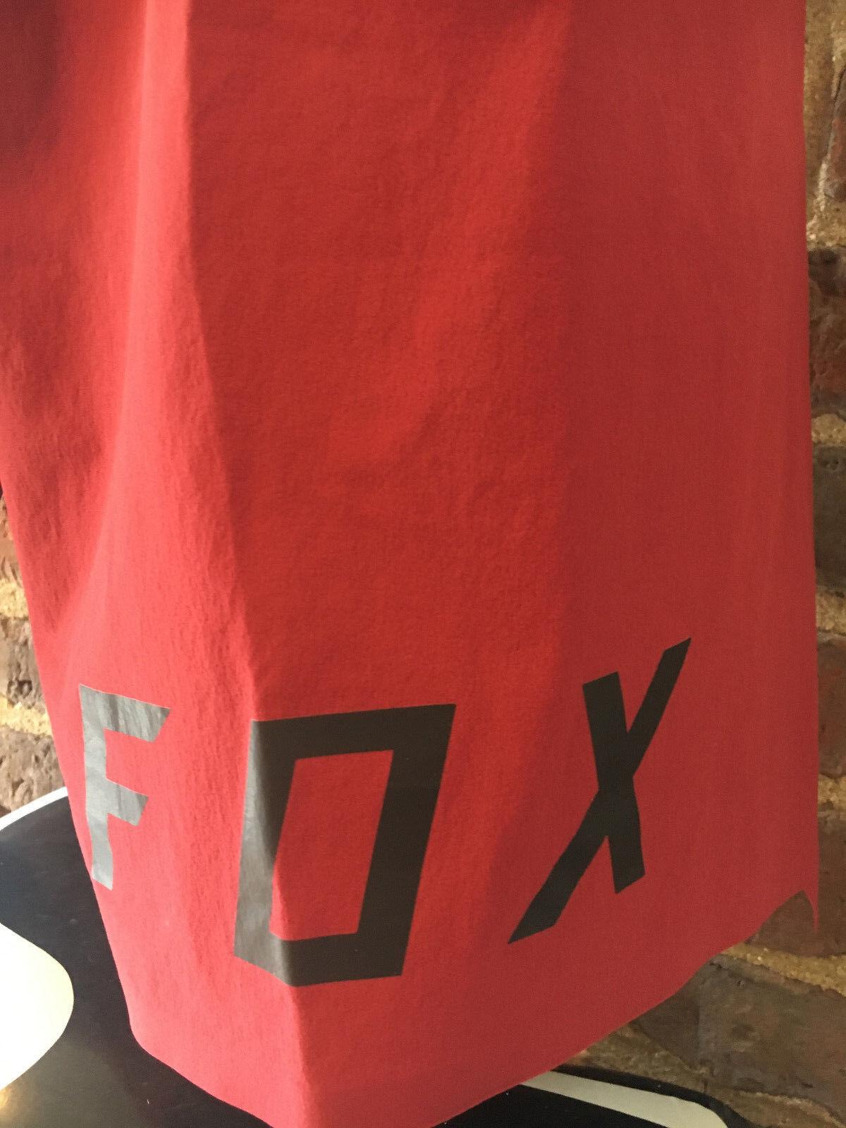 Fox Attack Performance Performance Performance Shorts Mtb Incl. innenhose Pad amovible Dark Red NEUF e10f16