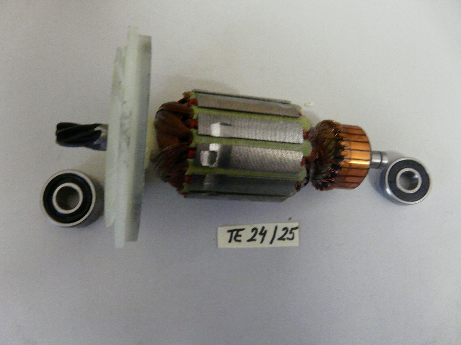 Hilti TE 24, TE 25 Rotor mit beiden Lagern    NEU
