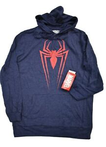 Marvel-Mens-Spiderman-Spider-Man-Lightweight-Hoodie-New-S-M-L-XL-2XL