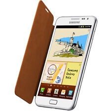 Samsung GT-N7000 i9220 Diary Flip Case Cover for Galaxy Note EFC-1E1COEC- Orange