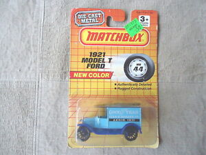 Vintage-1993-Matchbox-44-1921-Model-T-Ford-034-AWESOME-COLLECTABLE-PIECE-034