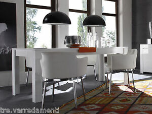 Tavolo da pranzo allungabile AMALFI cucina sala salotto 160/180cm ...