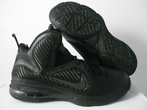 NIKE LEBRON 9 BLACK-ANTHRACITE BLACKOUT! SZ 8 [469764-001] | eBay