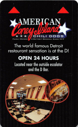 USA-19805 American Coney Island Hotel Key Card The D Las Vegas