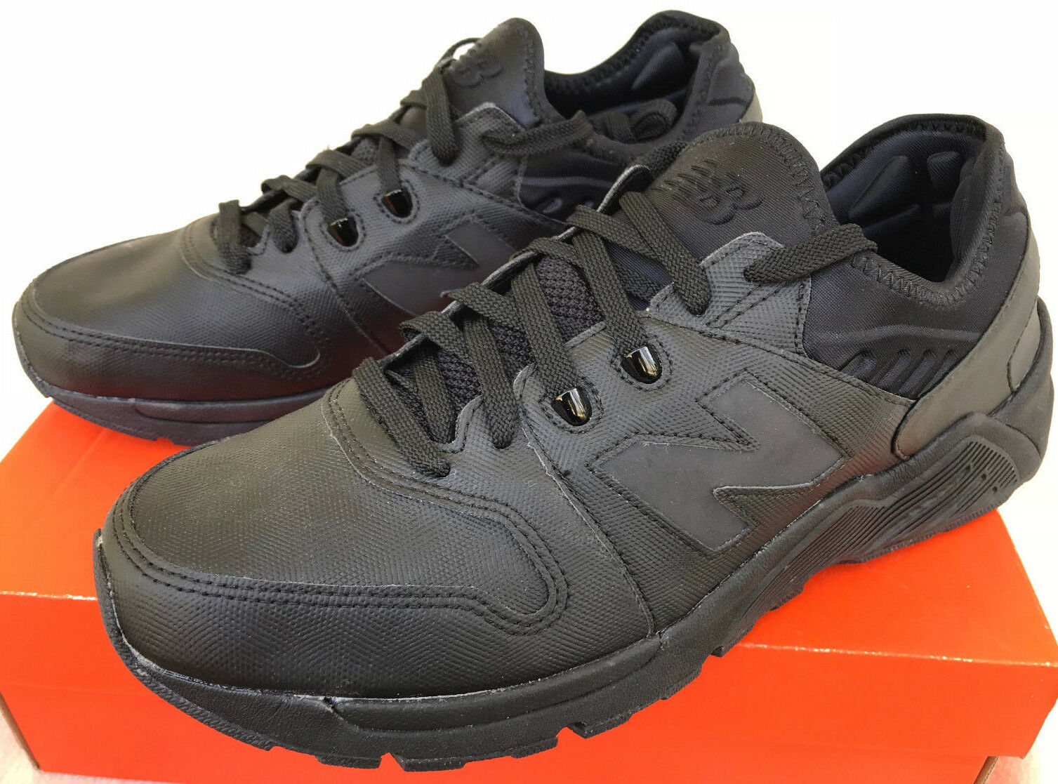 New IMEVA Balance ML009BB Triple Black IMEVA New HR Sole Comfort Walking Shoes Men's 10 478ebc