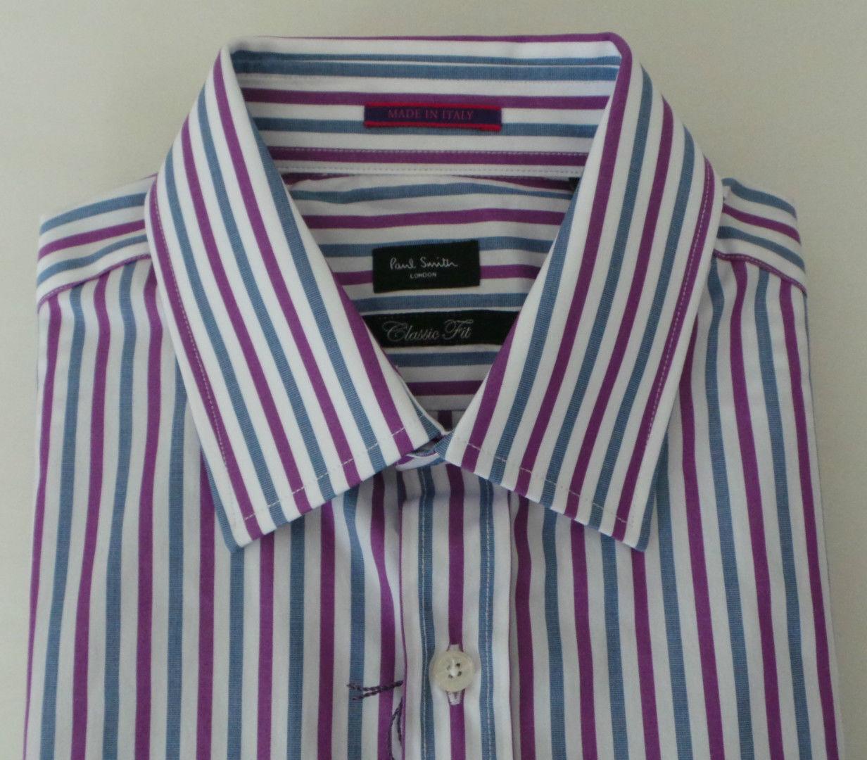 Paul Smith Camicia Taglia 15 strisce di media gamma di Londra