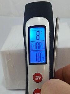 3 TERMOMETRO per VINO Digitale per Bottiglie e Decanter RENOIR Srl 10% SCONTO