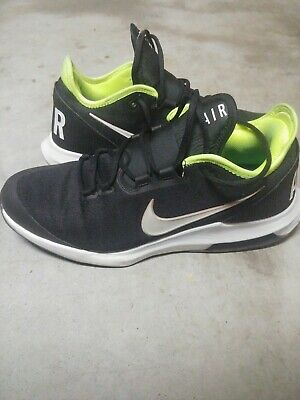 Nike Air Max Wildcard HC Men's Tennis Shoes Black/White-Volt Size 11.5 |  eBay
