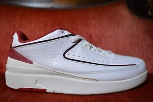 official photos 4166a 06b79 Details about Nike Air Jordan 2 II Retro Low White Varsity Red 2004 Edition  309837 101 DS VI