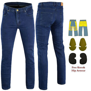 Mens-Motorcycle-Blue-Jeans-Reinforced-Riders-Pants-With-DuPont-Kevlar-Fiber-AS