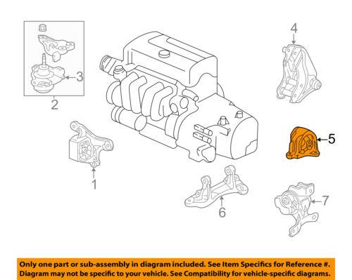 HONDA OEM-Engine Motor Mount Torque Strut 50810S7C003
