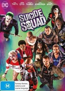 SUICIDE-SQUAD-DVD-NEW-amp-SEALED-REGION-4-FREE-POST