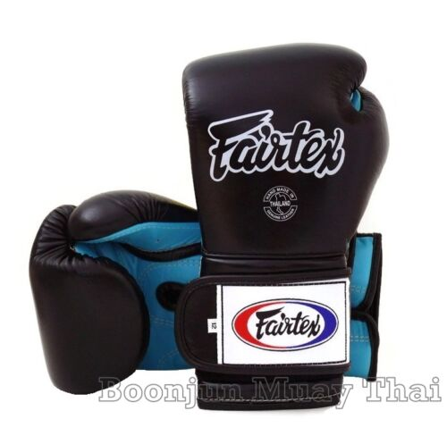 Fairtex Muay Thai BGV9 Minor Change Mexican Style boxing gloves Black Red White