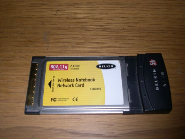 BELKIN PCMCIA CARD DRIVER FOR PC
