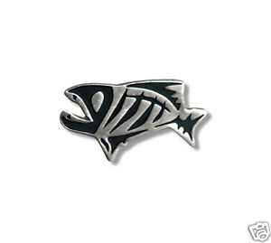 G loomis skeleton fish pin grey ebay for G loomis fish