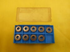 10 INDEXABLE CARBIDE INSERTS mill cutting tool bits NEWCOMER USA CDE 322 R05A