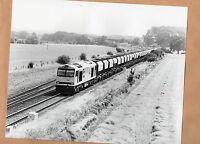 """Redland freight train at harrowden junction 29/7/91 Original 10""""x8"""" photo"""