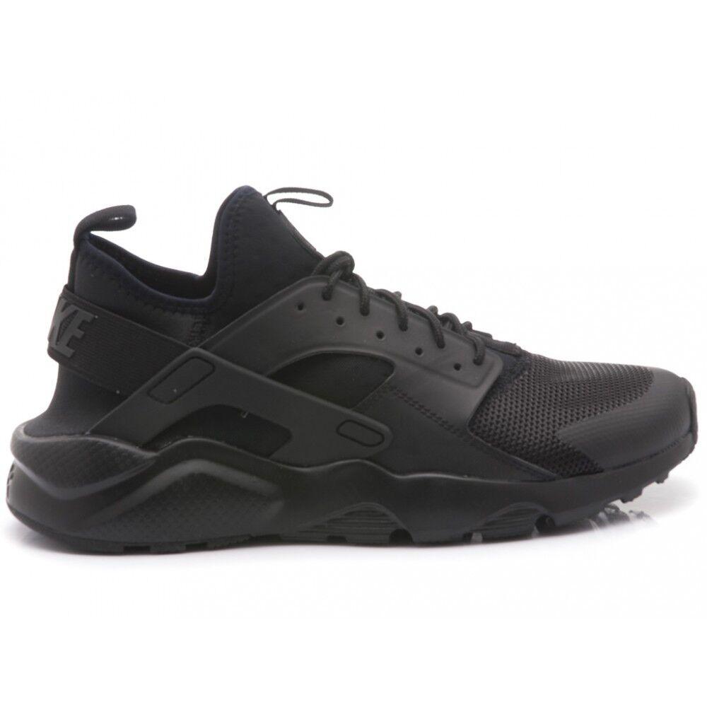 / scarpe nike air huarache correre ultra nera scarpe uomo n.41 42 43 44 195