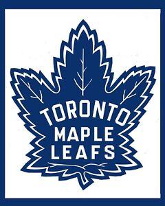 Toronto Maple Leafs Vintage Logo Wall Art 8x10 Photo Ebay