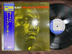 ART-BLAKEY-MOANIN-039-BLUE-NOTE-LNJ-80071-OBI-STEREO-JAPAN-Vinyl-LP