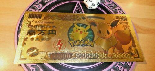 POKEMON GOLD BILLET CARD GO CARTE EEVEE EVOLI NEUF MINT