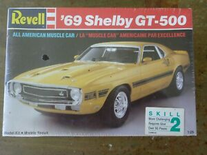 Revell Ford '69 Mustang Shelby GT 500 Factory Sealed Model ...