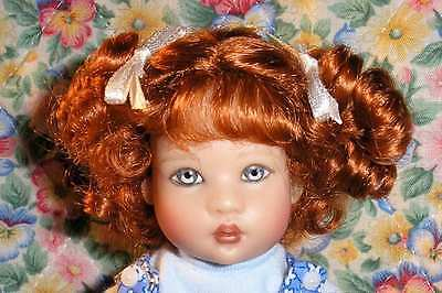WIG Lulu CARROT RED Made For Helen Kish Riley Doll Debs